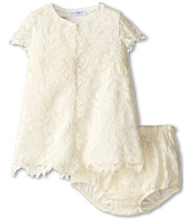 Dolce & Gabbana - Scalloped Lace Short Sleeve Dress (Infant)