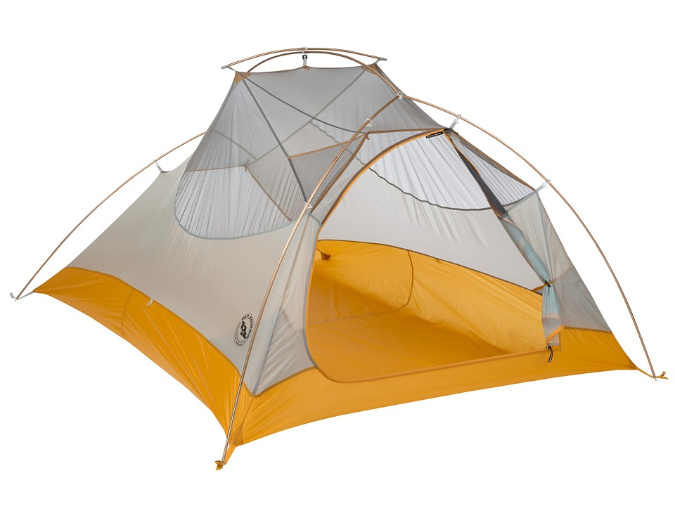 Big Agnes Fly Creek Ultralight Tent 3 Person Silver/Gold Outdoor Sports Equipment