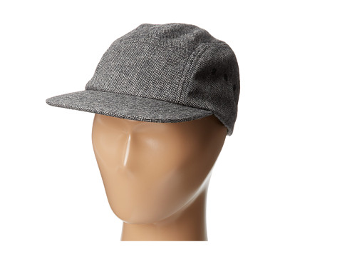 San Diego Hat Company Kids CTK3420 Herringbone Wool Blend Cap w/ Grommets (Little Kids)