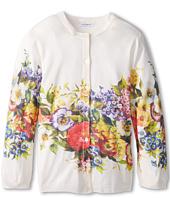 Dolce & Gabbana Kids - Floral Print Cardigan (Big Kids)