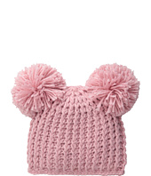San Diego Hat Company Kids - KNK3268 Lurex Knit Beanie with Pom Pom Ears (Little Kids)