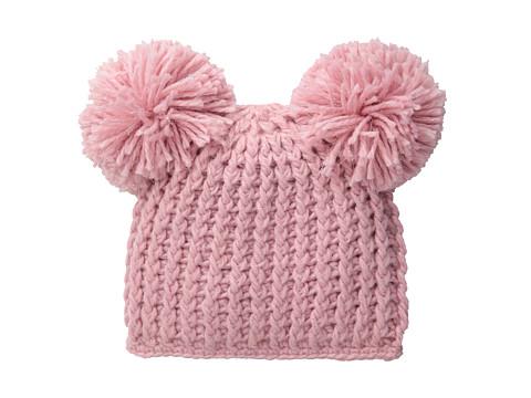 San Diego Hat Company Kids KNK3268 Lurex Knit Beanie with Pom Pom Ears (Little Kids)
