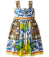 Dolce & Gabbana - Graphic Print Babydoll Dress (Toddler/Little Kids)
