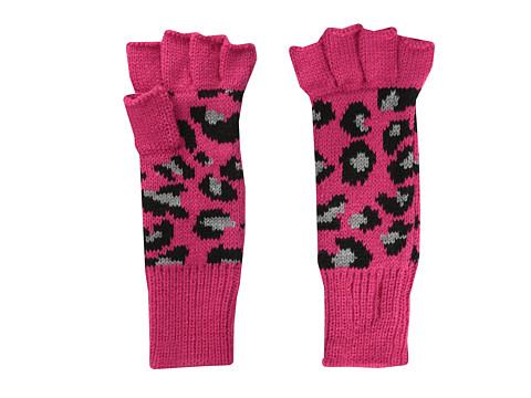 San Diego Hat Company Kids KNK3266 Knit Leopard Fingerless Gloves (Little Kids)