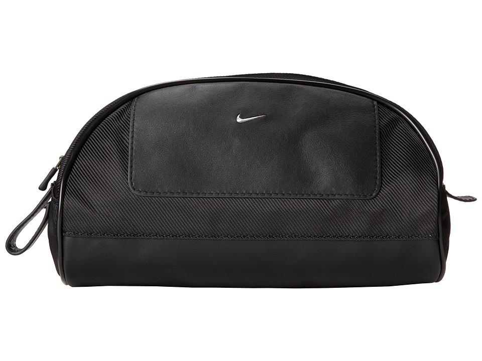 Nike - Nike Leather/Tech Twill Travel Kit (Black) Travel Pouch