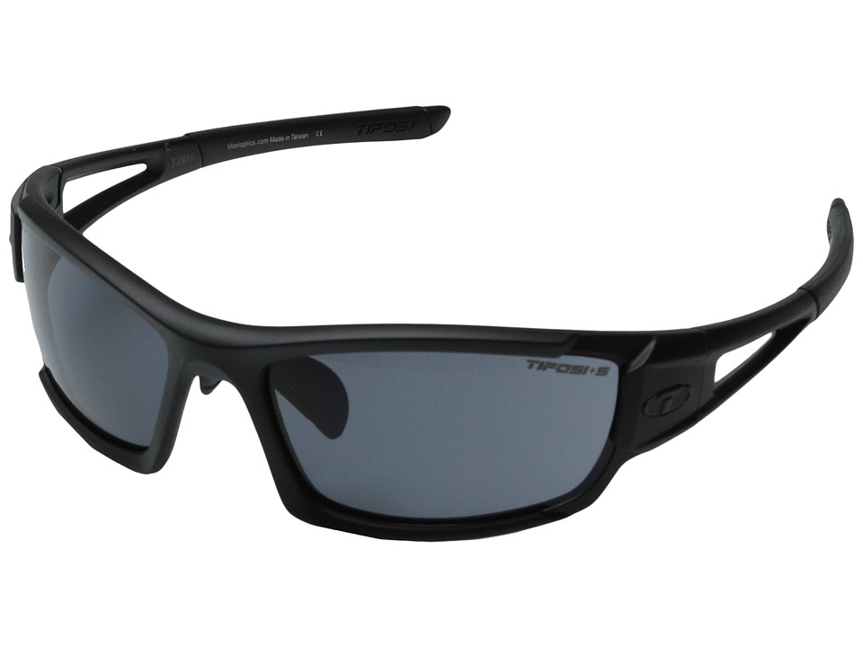 Tifosi Optics Dolomite 2.0 Tactical Interchangeable Matte Black Sport Sunglasses