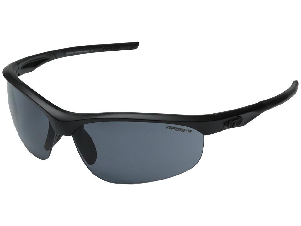 Tifosi Optics Velocetm Tactical Interchangeable (Matte Black) Sport Sunglasses