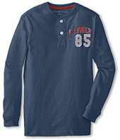 Tommy Hilfiger Kids - L/S 85 Henley (Big Kid)