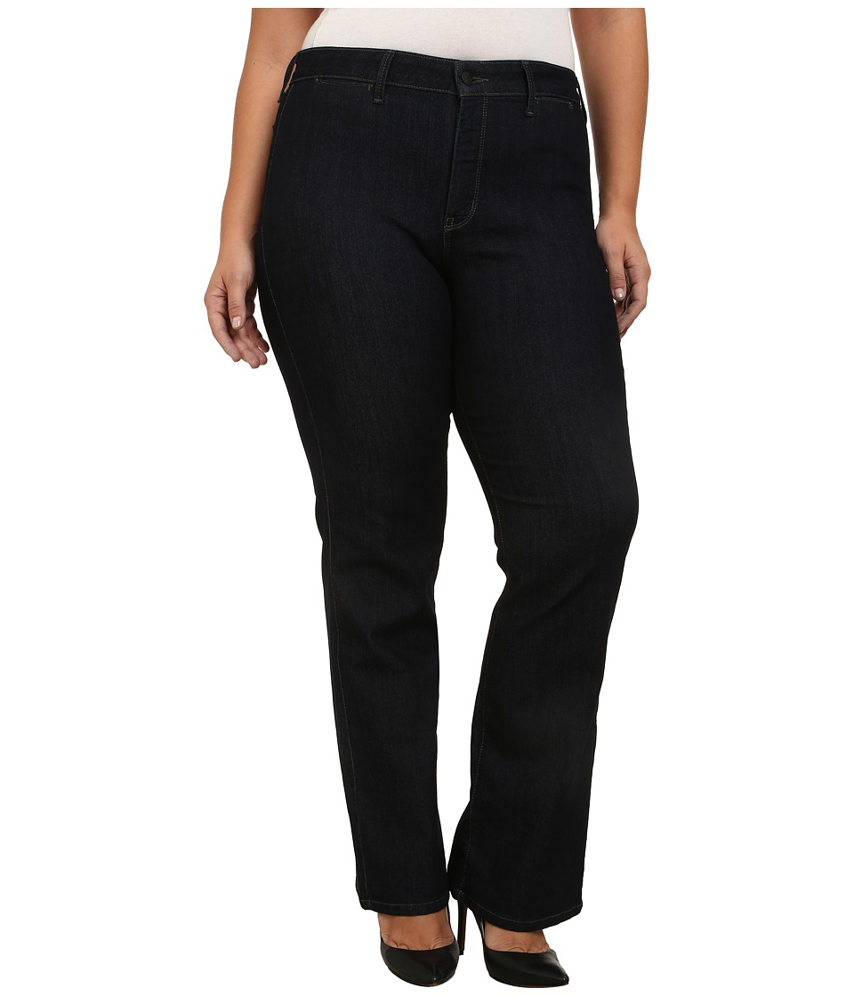 NYDJ Plus Size Plus Size Isabella Trouser in Dark Enzyme (Dark Enzyme) Women