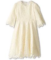 Dolce & Gabbana - 3/4 Sleeve Lace Dress (Little Kids)