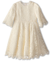 Dolce & Gabbana - 3/4 Sleeve Lace Dress (Big Kids)