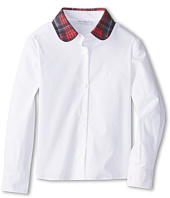 Dolce & Gabbana - Plaid Collar Long Sleeve Shirt (Toddler/Little Kids)