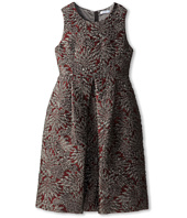Dolce & Gabbana - Sleeveless Jacquard A-Line Dress (Big Kids)