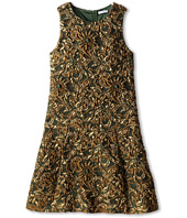 Dolce & Gabbana - Sleeveless Jacquard Shift Dress (Big Kids)