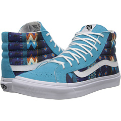 SK8-Hi Slim ((Leila) Blue Atoll/White) Skate Shoes