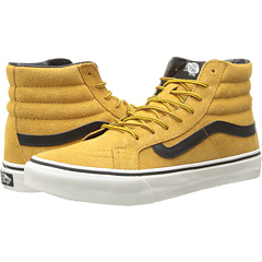SK8-Hi Slim ((Hiker) Suede/Tan) Skate Shoes