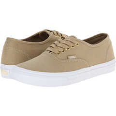 Authentic Slim ((Gold Pop) Twill/Khaki) Skate Shoes