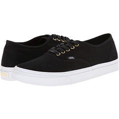 Authentic Slim ((Gold Pop) Twill/Black) Skate Shoes