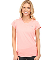 New Balance - Heathered Short Sleeve Top