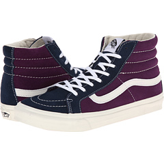 SK8-Hi Slim ((Vintage Suede) Grape Royale) Skate Shoes
