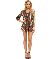 Brigitte Bailey - Tribal Romper with Flare Short