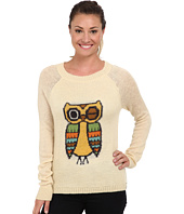 Woolrich - Motif Mohair Crew Sweater