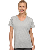 New Balance - Heathered V-Neck Top