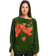 Vivienne Westwood Gold Label - Infinity Birds Poncho