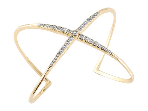 Elizabeth and James Windrose Pave Cuff - White Topaz