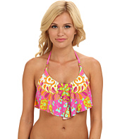 Trina Turk - Woodblock Floral Swim Crop Top