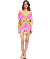 Trina Turk - Woodblock Floral Swim Cover-Up Tunic