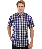 U.S. POLO ASSN. - Cotton Poplin Button Down Plaid Shirt