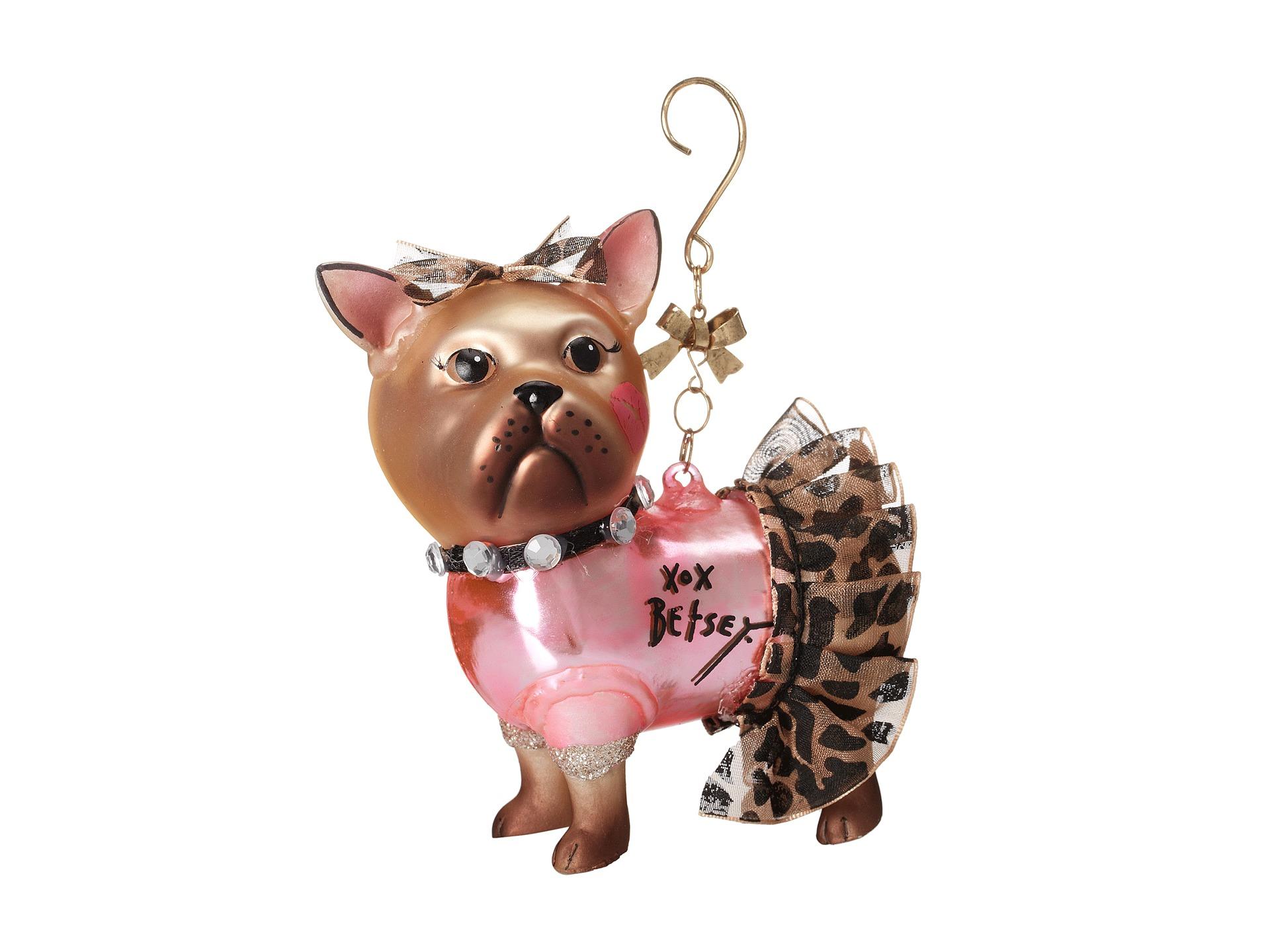 Betsey Johnson Gifting Hostess Dog Tutu Ornament Women