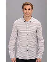 Kenneth Cole Sportswear - Long Sleeve Graphic Check Sport Shirt