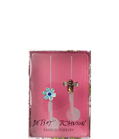 Betsey Johnson - Gifting Hostess Flower Bee Earbud Covers