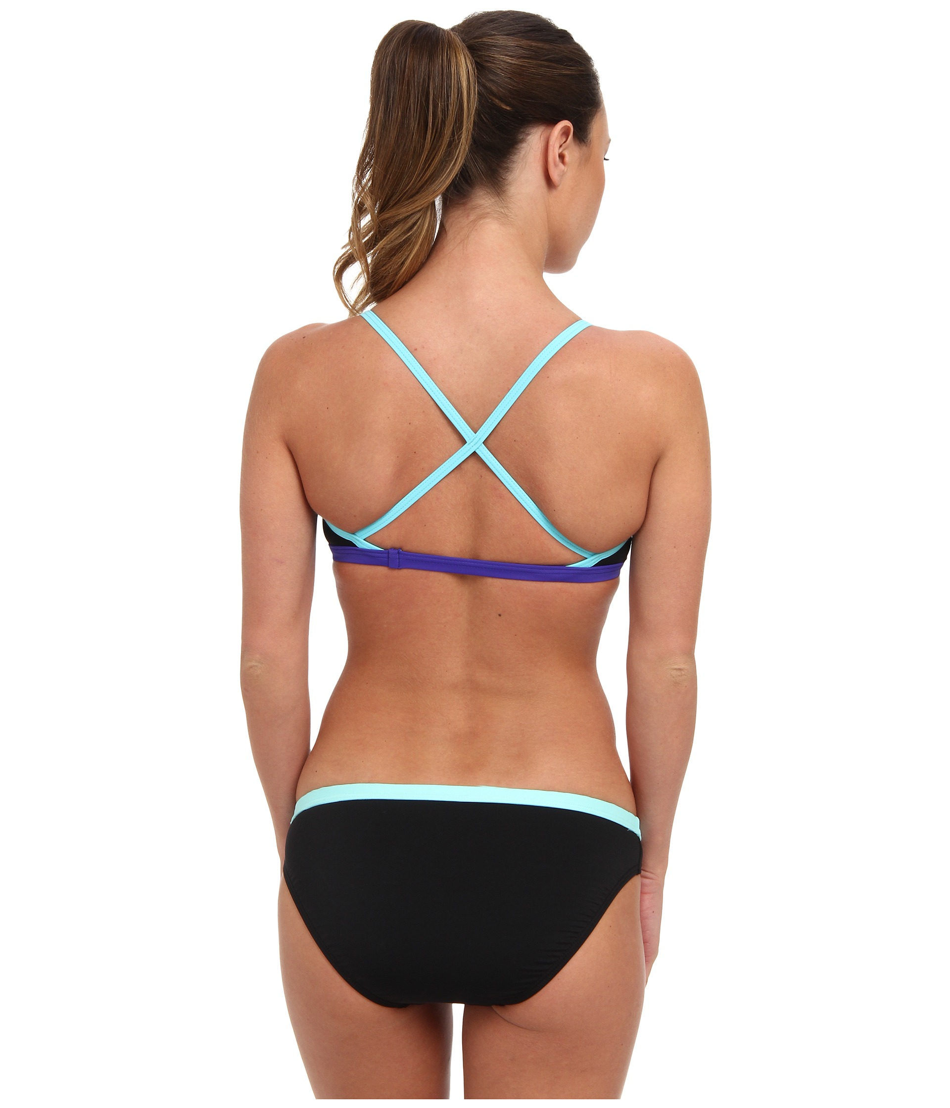 Agree, Solid microback workout bikini that's something