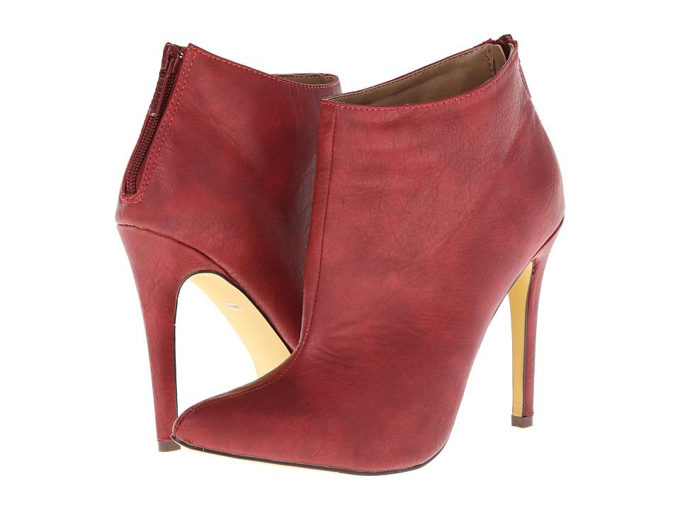Michael Antonio Jaime (Red) Women's Dress Zip Boots