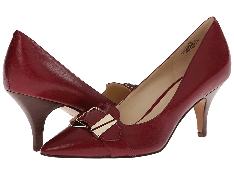 Nine West Elexys (Red Leather) High Heels