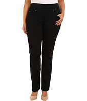 Jag Jeans Plus Size - Plus Size Peri Pull-On Straight Heritage Twill