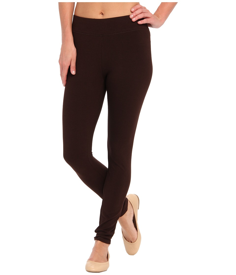 HUE Ultra Leggings w/ Wide Waistband (Espresso) Women