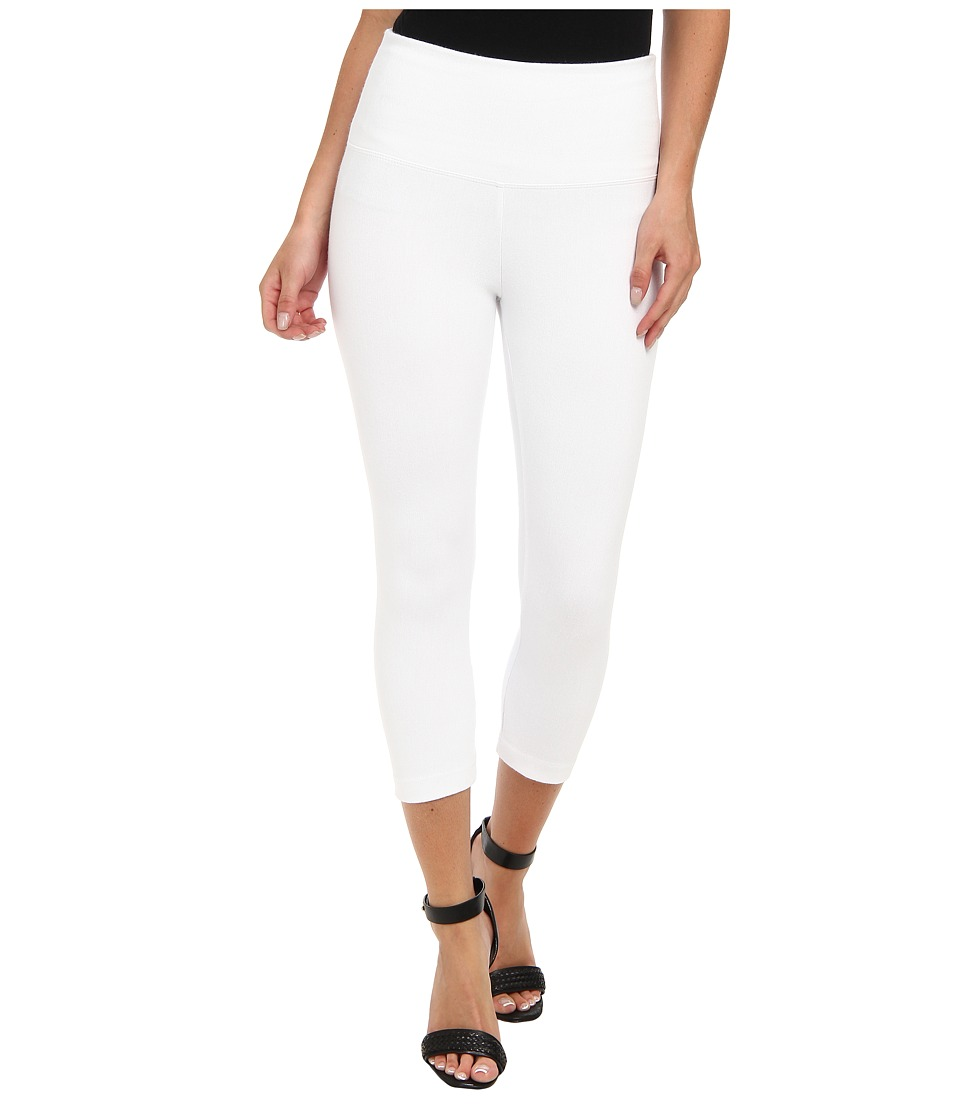 Lysse - Perfect Denim Capri 6173C (White) Womens Capri