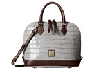 Dooney & Bourke Croco Zip Zip Satchel
