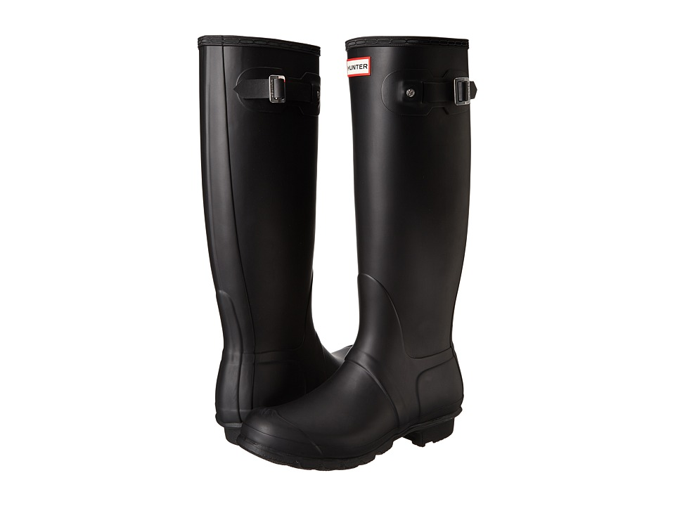 Hunter Original Tall Rain Boots (Black) Women