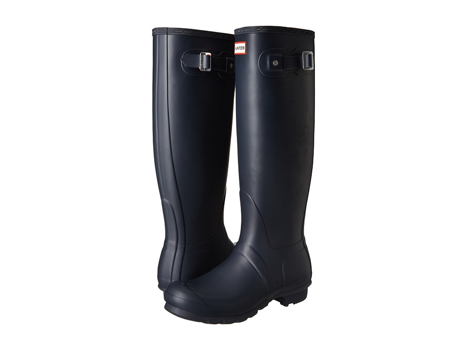 Hunter Original Tall Rain Boots (Navy) Women