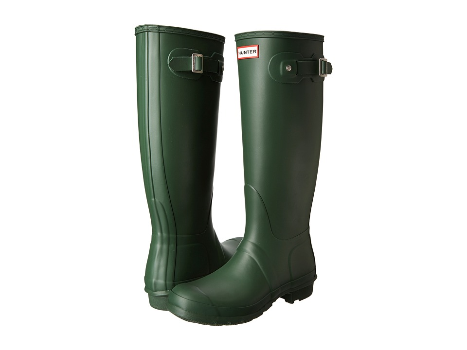 Hunter Original Tall Rain Boots (Hunter Green) Women