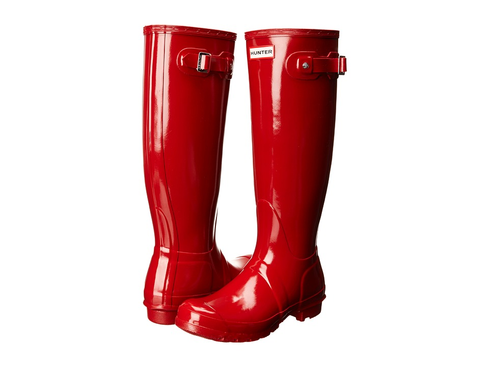 Hunter Original Gloss (Military Red) Women