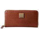 Dooney & Bourke Saffiano Large Zip Around
