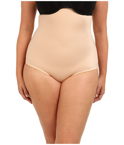 Spanx - Plus Size Hide Sleek High-Waisted Panty New Slimproved 2509P (Natural) Women's Underwear