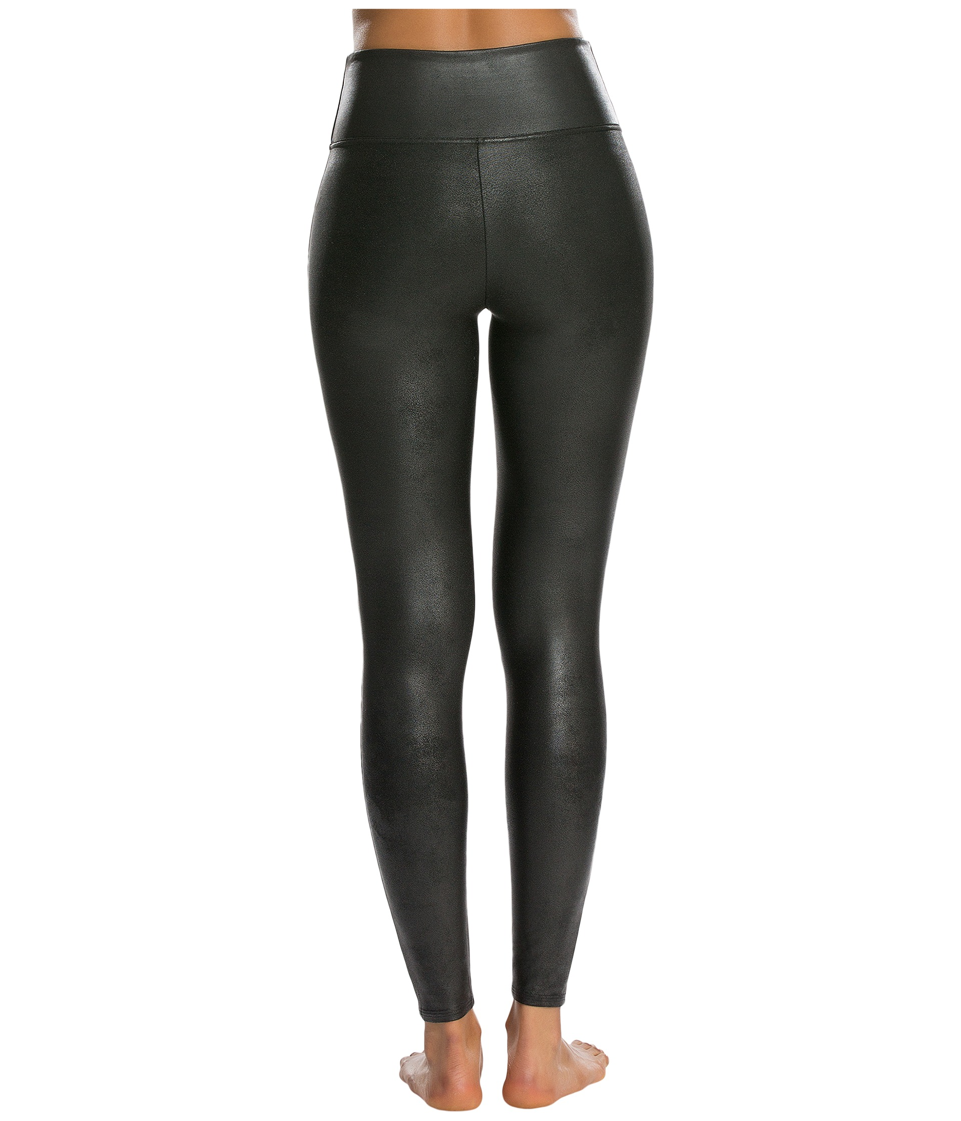 Spanx Ready-to-Wow!™ Faux Leather Leggings - Zappos.com Free ...