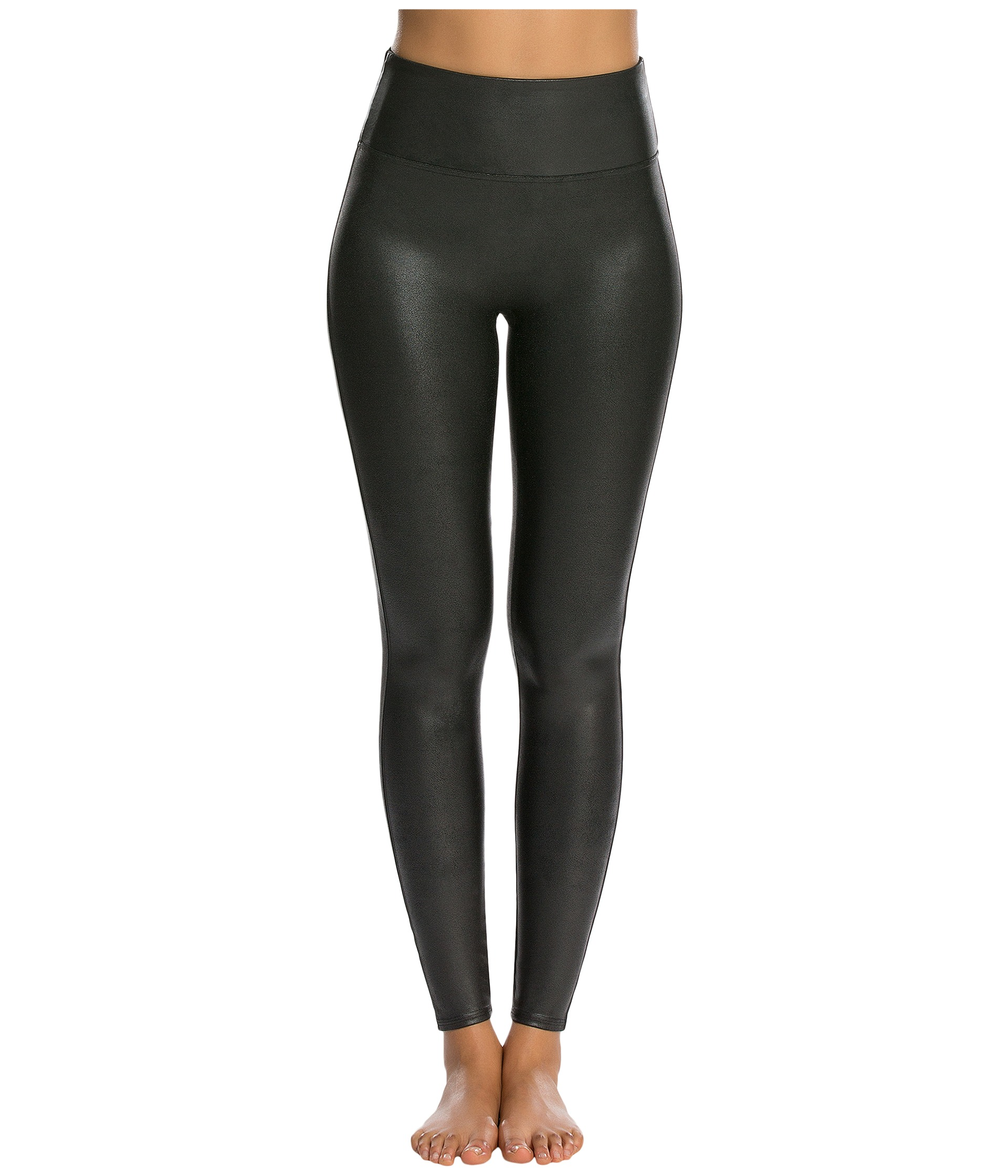 Find faux leather leggings that work great as casual wear, and select options with different leg cuts to complement your fashion-forward look. Ultra-tight legs look great with longer tops and boots, while boot-cut legs make an excellent choice for work and pair well with pumps.